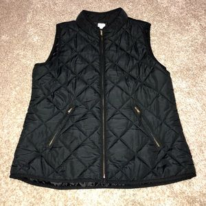 Crown & Ivy black vest